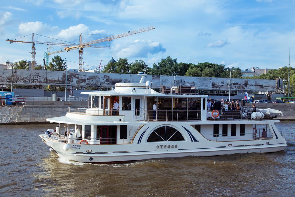 """Стоимость аренды яхты """"Отрада"""" в Москве"""